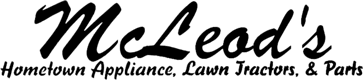 McLeod's Hometown Appliance, Lawn Tractors & Parts Logo